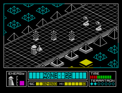 Alien Highway ZX Spectrum 12