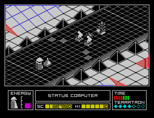 Alien Highway ZX Spectrum 22