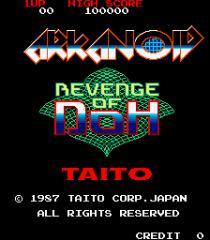 Arkanoid - Revenge of Doh Arcade 01