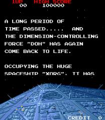 Arkanoid - Revenge of Doh Arcade 02