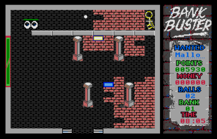 Bank Buster Atari ST 12