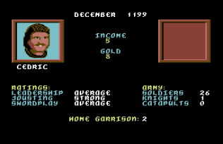 Defender of the Crown C64 10
