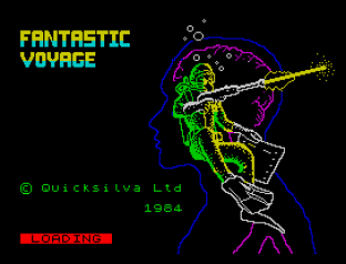 Fantastic Voyage ZX Spectrum 01