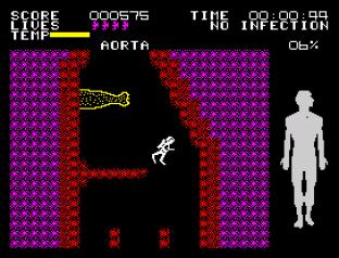 Fantastic Voyage ZX Spectrum 12
