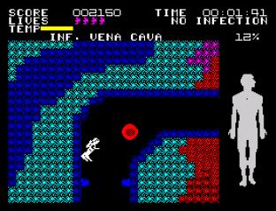 Fantastic Voyage ZX Spectrum 20
