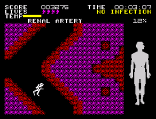 Fantastic Voyage ZX Spectrum 31