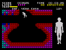 Fantastic Voyage ZX Spectrum 33
