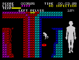 Fantastic Voyage ZX Spectrum 34