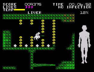 Fantastic Voyage ZX Spectrum 42