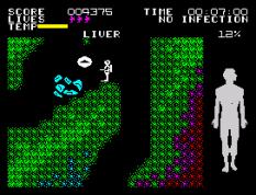 Fantastic Voyage ZX Spectrum 43