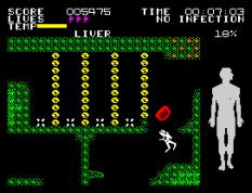 Fantastic Voyage ZX Spectrum 44