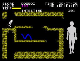 Fantastic Voyage ZX Spectrum 45