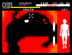 Fantastic Voyage ZX Spectrum 55