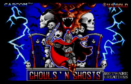 Ghouls N Ghosts Atari ST 01