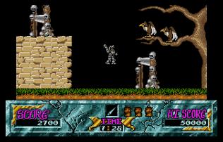 Ghouls N Ghosts Atari ST 22