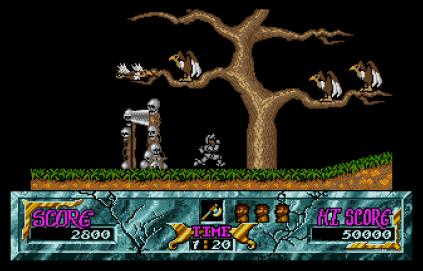 Ghouls N Ghosts Atari ST 23
