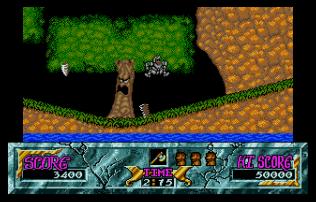 Ghouls N Ghosts Atari ST 32