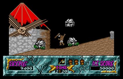 Ghouls N Ghosts Atari ST 64