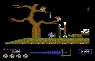 Ghouls N Ghosts C64 10