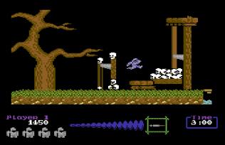 Ghouls N Ghosts C64 11