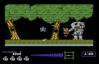 Ghouls N Ghosts C64 22