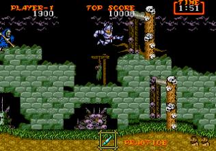 Ghouls N Ghosts Megadrive 010