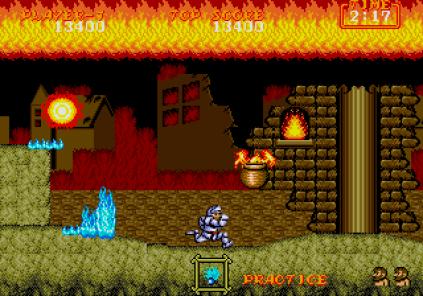 Ghouls N Ghosts Megadrive 053