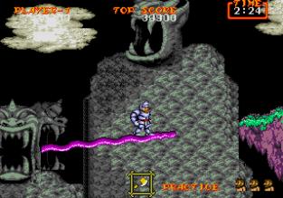 Ghouls N Ghosts Megadrive 097