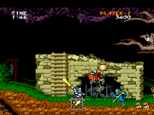 Ghouls N Ghosts PC Engine 009