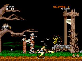 Ghouls N Ghosts PC Engine 020