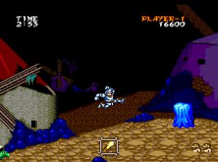 Ghouls N Ghosts PC Engine 044