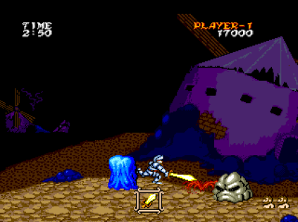Ghouls N Ghosts PC Engine 045