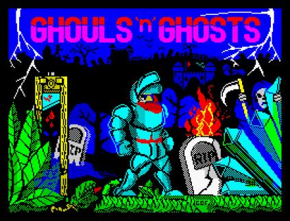 Ghouls N Ghosts ZX Spectrum 01