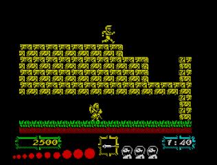 Ghouls N Ghosts ZX Spectrum 10