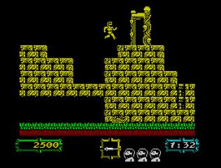 Ghouls N Ghosts ZX Spectrum 11