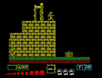 Ghouls N Ghosts ZX Spectrum 12