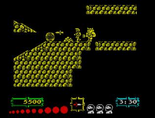 Ghouls N Ghosts ZX Spectrum 21