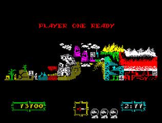 Ghouls N Ghosts ZX Spectrum 33