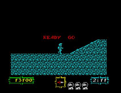 Ghouls N Ghosts ZX Spectrum 34