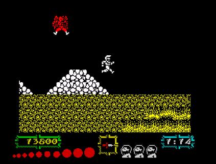 Ghouls N Ghosts ZX Spectrum 45