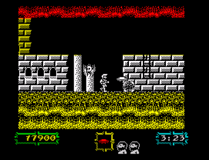 Ghouls N Ghosts ZX Spectrum 53