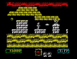 Ghouls N Ghosts ZX Spectrum 54