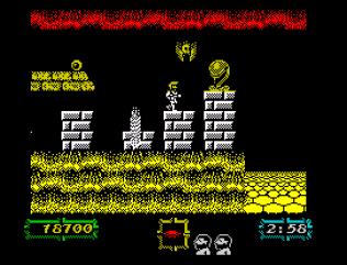 Ghouls N Ghosts ZX Spectrum 55