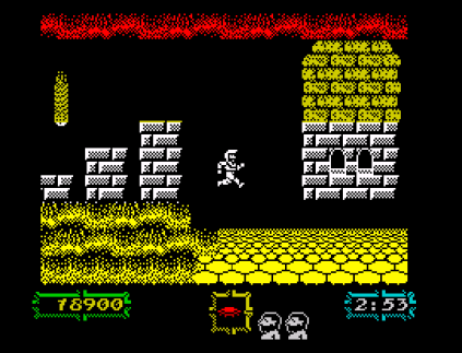 Ghouls N Ghosts ZX Spectrum 56