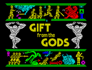 Gift From The Gods ZX Spectrum 01