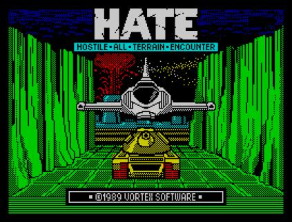 HATE ZX Spectrum 01