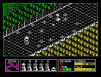 Highway Encounter ZX Spectrum 06