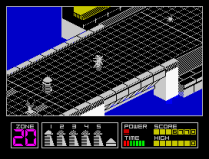 Highway Encounter ZX Spectrum 08