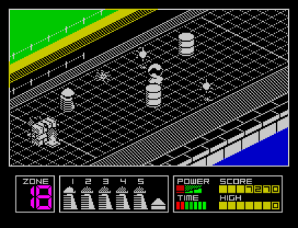 Highway Encounter ZX Spectrum 09