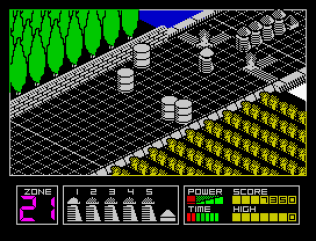 Highway Encounter ZX Spectrum 10